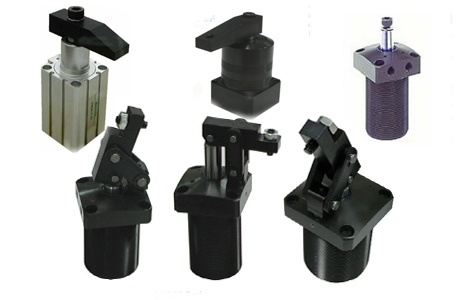 Pneumatic and Hydraulic Clamp